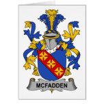 Escudo de la familia de McFadden Felicitacion