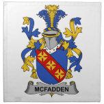 Escudo de la familia de McFadden Servilleta De Papel