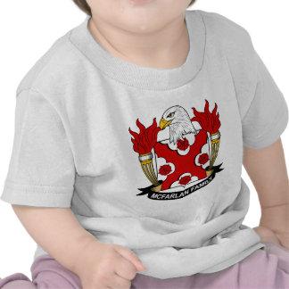 Escudo de la familia de McFarlan Camiseta