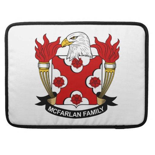Escudo de la familia de McFarlan Funda Para Macbooks