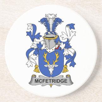 Escudo de la familia de McFetridge Posavasos Manualidades