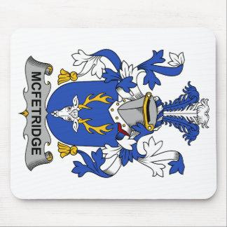 Escudo de la familia de McFetridge Alfombrillas De Ratones