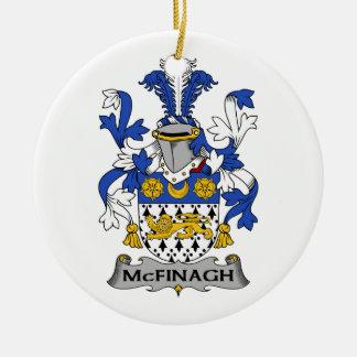 Escudo de la familia de McFingah Ornamentos De Reyes