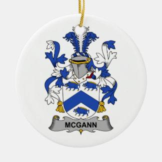 Escudo de la familia de McGann Adorno De Navidad