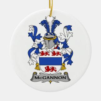 Escudo de la familia de McGannon Ornamente De Reyes