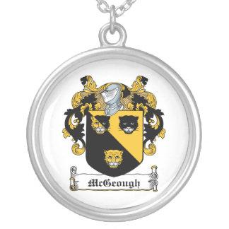 Escudo de la familia de McGeough Colgante Redondo