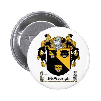 Escudo de la familia de McGeough Pin Redondo 5 Cm