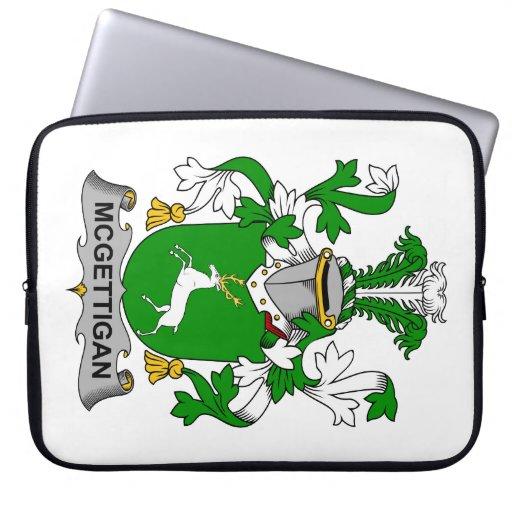 Escudo de la familia de McGettigan Manga Computadora