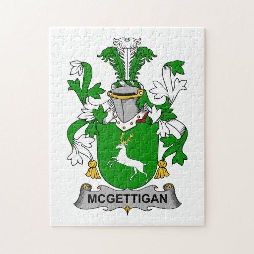 Escudo de la familia de McGettigan Rompecabeza