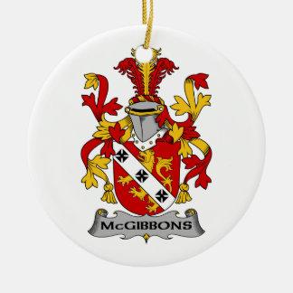 Escudo de la familia de McGibbons Ornatos