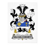 Escudo de la familia de McGilchrist Invitacion Personalizada
