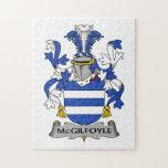 Escudo de la familia de McGilfoyle Puzzle Con Fotos