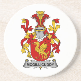 Escudo de la familia de McGillicuddy Posavasos Para Bebidas