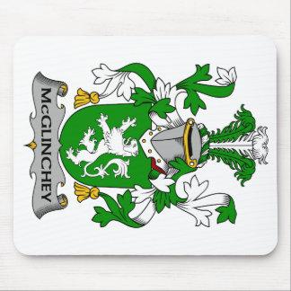 Escudo de la familia de McGlinchey Alfombrilla De Ratones