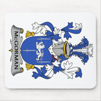 Escudo de la familia de McGorman Alfombrillas De Raton
