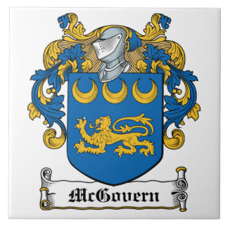 Escudo de la familia de McGovern Azulejos Cerámicos