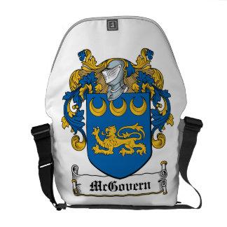 Escudo de la familia de McGovern Bolsas Messenger