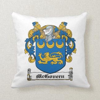 Escudo de la familia de McGovern Cojin