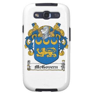 Escudo de la familia de McGovern Galaxy S3 Carcasa