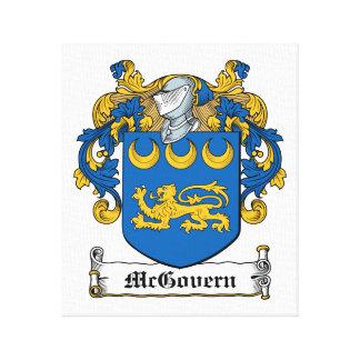 Escudo de la familia de McGovern Impresion En Lona