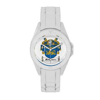 Escudo de la familia de McGovern Relojes De Pulsera