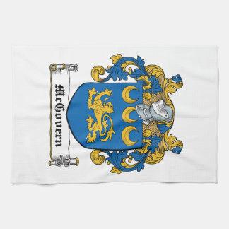Escudo de la familia de McGovern Toallas