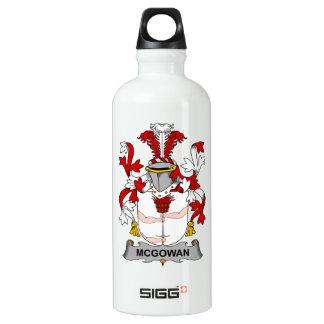 Escudo de la familia de McGowan Botella De Agua