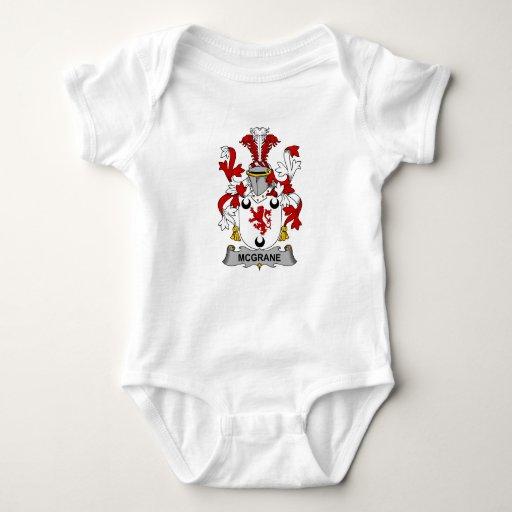 Escudo de la familia de McGrane Body Para Bebé