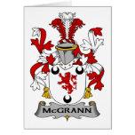 Escudo de la familia de McGrann Tarjetas