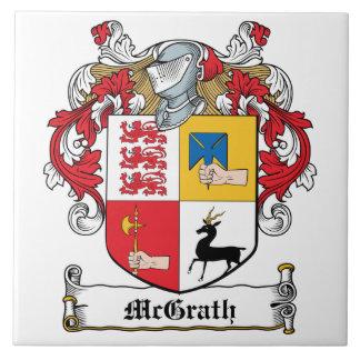 Escudo de la familia de McGrath Azulejo Cuadrado Grande