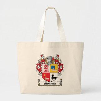 Escudo de la familia de McGrath Bolsa Tela Grande