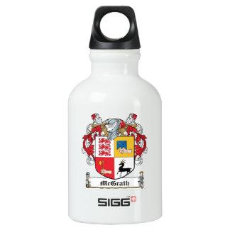 Escudo de la familia de McGrath Botella De Agua