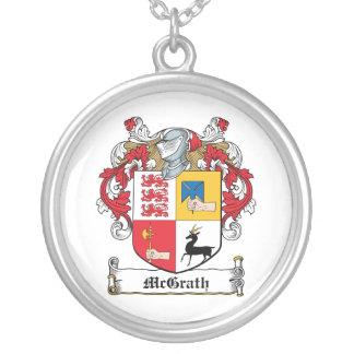 Escudo de la familia de McGrath Colgante Redondo