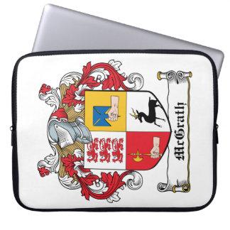 Escudo de la familia de McGrath Fundas Ordendadores