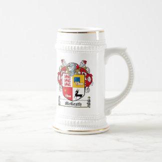 Escudo de la familia de McGrath Jarra De Cerveza