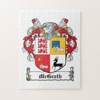 Escudo de la familia de McGrath Puzzles Con Fotos