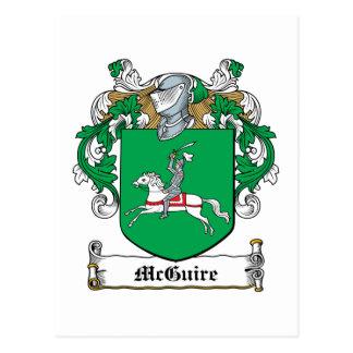 Escudo de la familia de McGuire Postales
