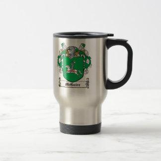 Escudo de la familia de McGuire Taza De Café