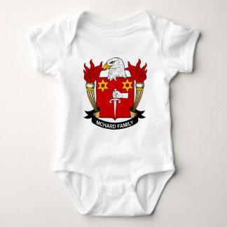 Escudo de la familia de McHard Mameluco De Bebé