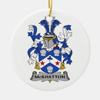 Escudo de la familia de McIlhatton Ornato