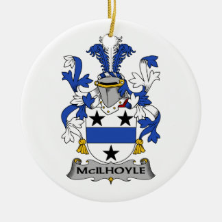 Escudo de la familia de McIlhoyle Ornamento De Reyes Magos