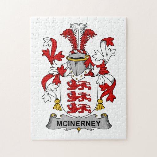 Escudo de la familia de McInerney Rompecabeza