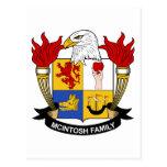 Escudo de la familia de McIntosh Postal