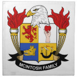 Escudo de la familia de McIntosh Servilletas De Papel
