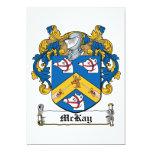 Escudo de la familia de McKay Anuncios Personalizados