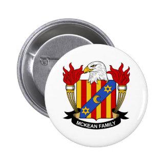 Escudo de la familia de McKean Pins