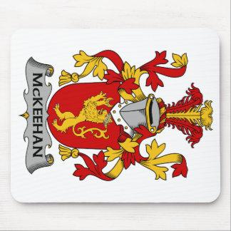 Escudo de la familia de McKeehan Tapete De Ratones