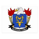 Escudo de la familia de McKenzie Postales