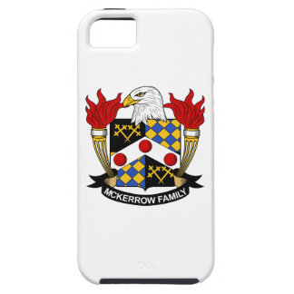 Escudo de la familia de McKerrow iPhone 5 Case-Mate Fundas