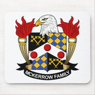 Escudo de la familia de McKerrow Tapetes De Ratones